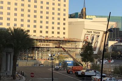 モンテカルロホテル改装工事