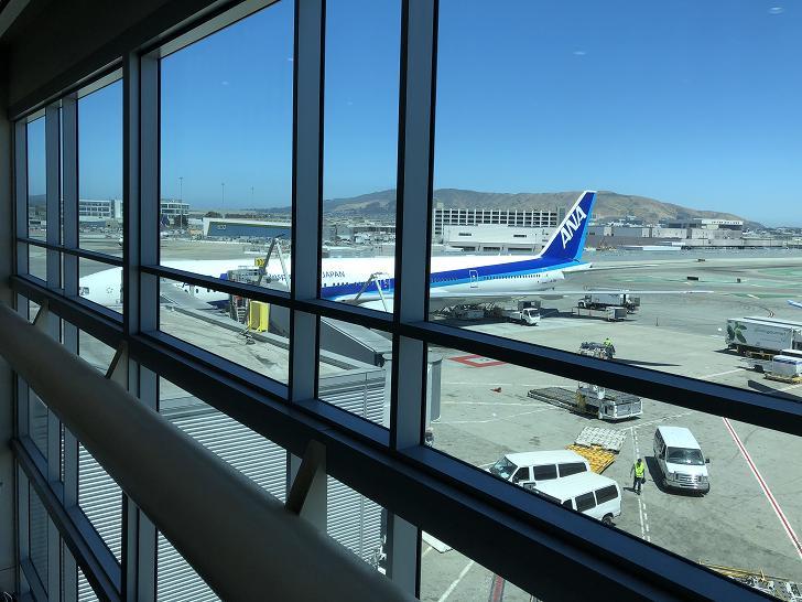 サンフランシスコ乗り継ぎ