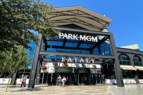 パークMGM 大通り側玄関