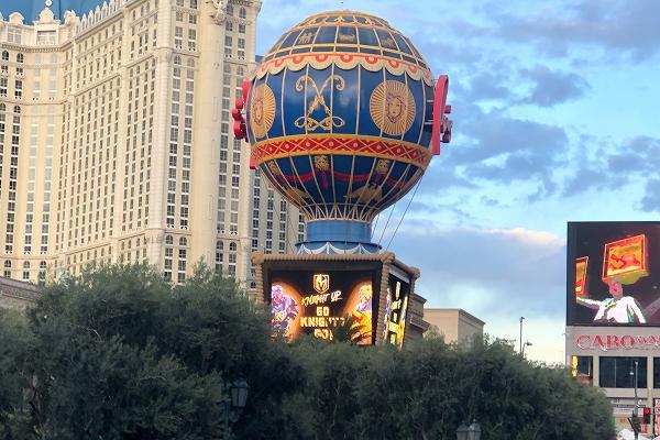 パリスの気球