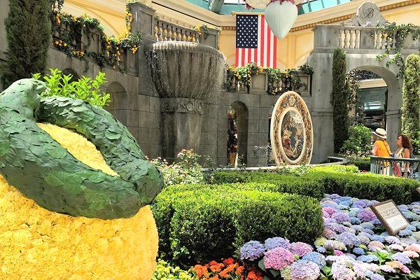 ベラージオ夏の植物園
