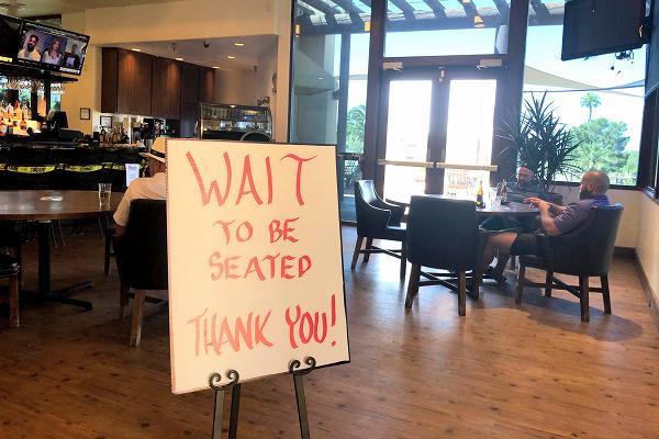 レストラン再オープン