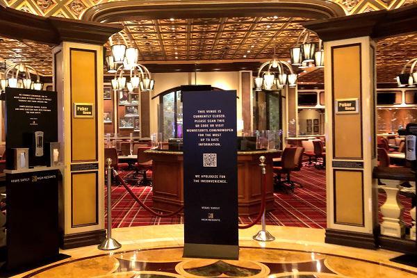 ベラージオホテル ポーカールーム