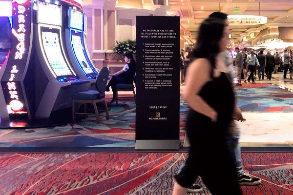 ベラージオホテル 感染予防対策ボード