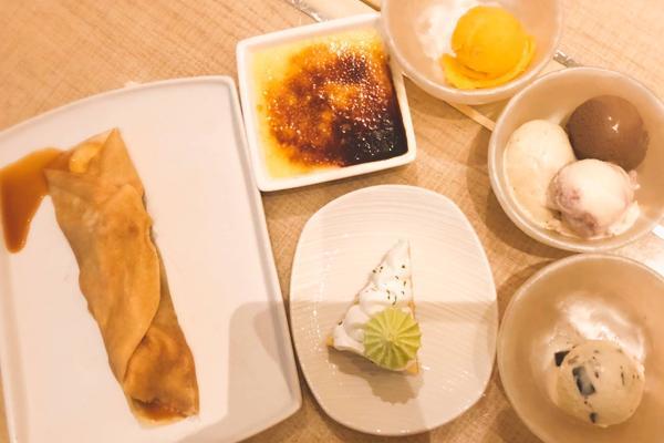 ウィン バフェ デザート
