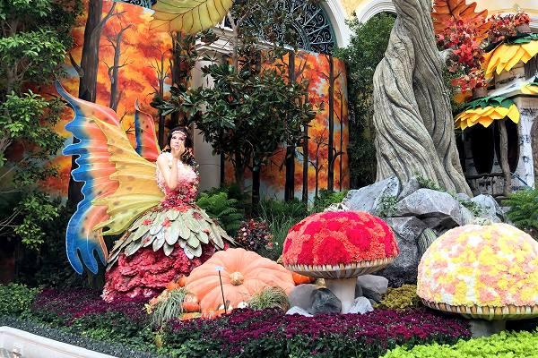 ベラージオ 植物園